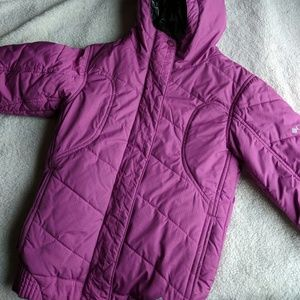 Columbia Titanium Omni-Heat Purple Jacket
